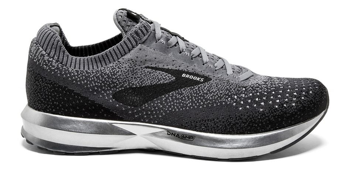 Men's Brooks Levitate 2 Black/Grey/Ebony
