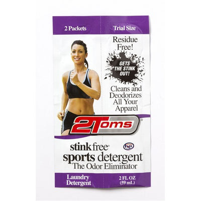 2Toms Stink Free Sports Detergent 2 oz Packet