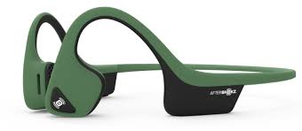 Green Aftershokz Trekz Air Headphones