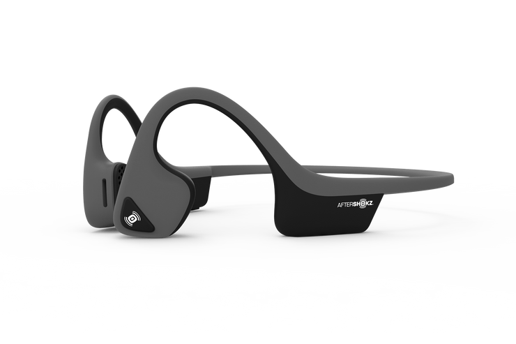 Grey Aftershokz Trekz Air Headphones
