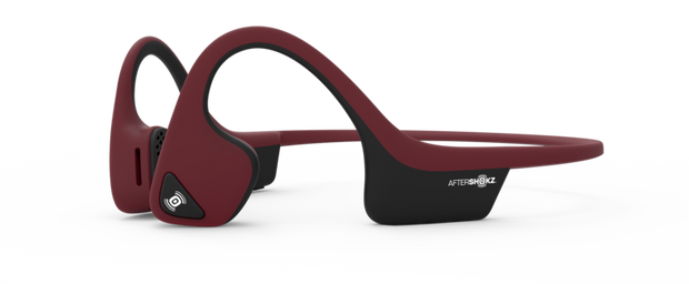 Red Aftershokz Trekz Air Headphones