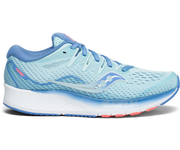 Women's Saucony Ride Iso 2 Blue/Coral