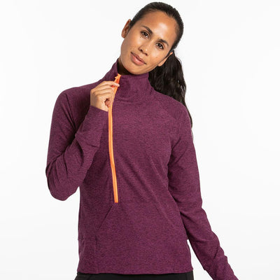 Oiselle | Lux Forward Half Zip