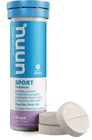 Nuun Hydration Electrolytes | Single Tube of Ten Tablets | Electrolyte Drink Tabs