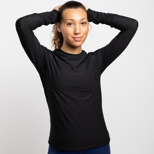 Oiselle | Simple Stripe Long Sleeve