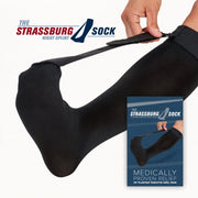 The Strassburg Sock | Plantar Fasciitis Night Splint | Black or White