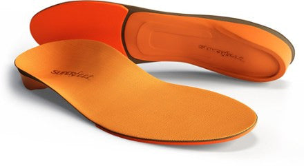 Superfeet | Orange | High Profile Inserts | Orthotics | Supportive Footwear Insoles |