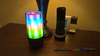 SL-17 Laser Crystal - LED Atmosphere Personal Bluetooth Speaker 16 Patterns - Spectrum Laser Lights