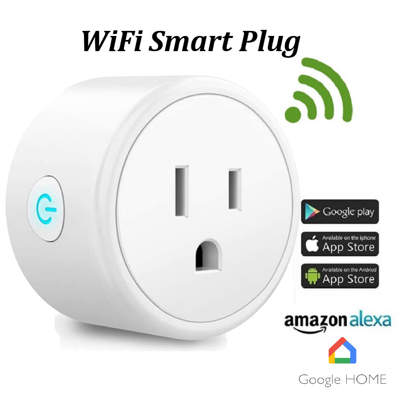 Wi-Fi Smart Plug Appliance Adapter