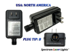 XPA Laser Light Replacement Power Adapter - Spectrum Laser Lights