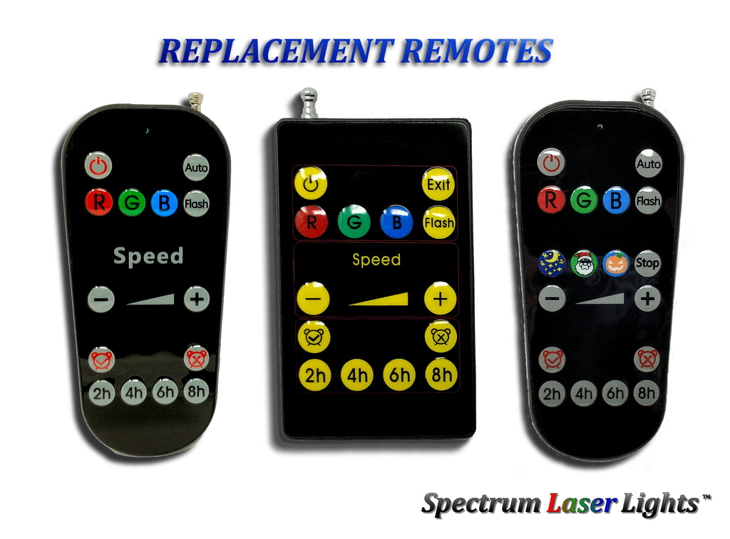 X-RF Laser Light Replacement Remote - Spectrum Laser Lights