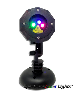 SL-33 - RGB Moving Firefly Laser Christmas Light | 2nd GEN v2 - Spectrum Laser Lights