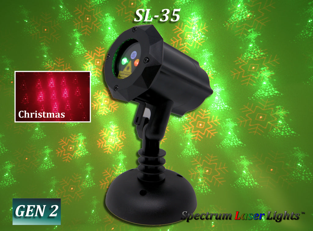 SL-35 Red | Green 16 Moving Christmas Patterns 2nd GEN v2