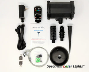 SL-39 The Cannon RGB 16 Pattern Laser Christmas Light with Bluetooth Speaker - 2nd GEN - Spectrum Laser Lights