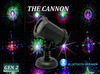 SL-39 The Cannon RGB 16 Pattern Laser Christmas Light with Bluetooth Speaker - 2nd GEN v2