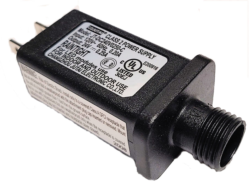 CZJUTAI 24 volt 0.25A Class 2 Power Supply JT-DC240V0250-C