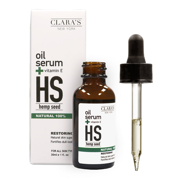 Restoring Hemp Seed Facial Oil Serum