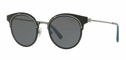 Tiffany & Co. Sunglasses TF3061 60033F 64 Gunmetal, Grey Lens Size 64MM