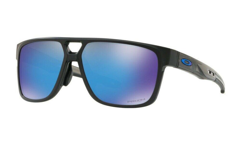 Oakley Sunglass Square Style Matte Black Color | Crossrange Patch OO9391 0660