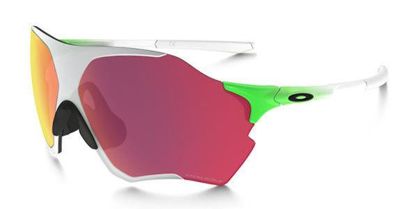 OAKLEY EVZERO RANGE OO9337 05 Green Fade Chrome / PRIZM Field Sunglasses Rader