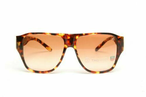 Tag Heuer Maria Sharapova 9100 Tortoise / Brown Gradient Sunglasses TH9100 204