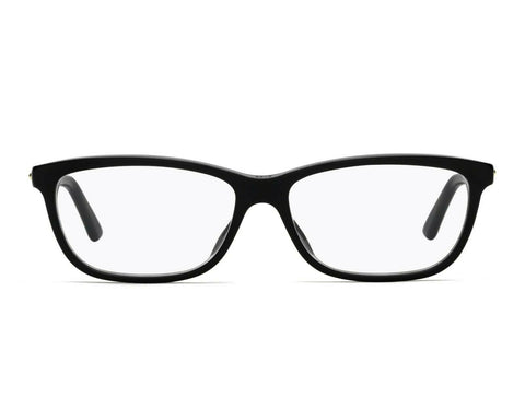 New Christian Dior Eyeglasses CD Montaigne 56 807 BLACK 51mm RX AUTHENTIC