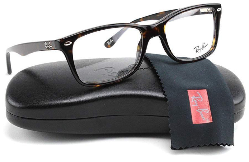 Ray-Ban Eyeglass - Square Style Dark Havana Color Unisex Eyeglass RX5228 2012 50MM