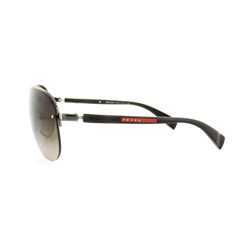 Prada Sport Sunglasses PS56MS 5AV6S1 62MM Brown Frame Brown Gradient Lens