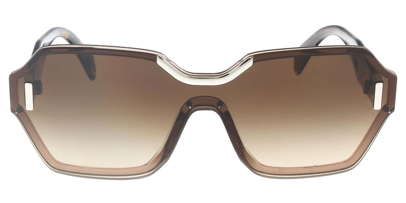 Prada Sunglasses Women SPR 15T Brown VIQ-6S1 SPR15T 48mm