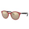 Ray-Ban Sunglass - Round Style Peek Color Unisex Sunglass - RB4296-63455A