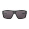 Oakley Sunglass - Straightback Rectangular Style with Prizm Grey Lens - OO9411-0127