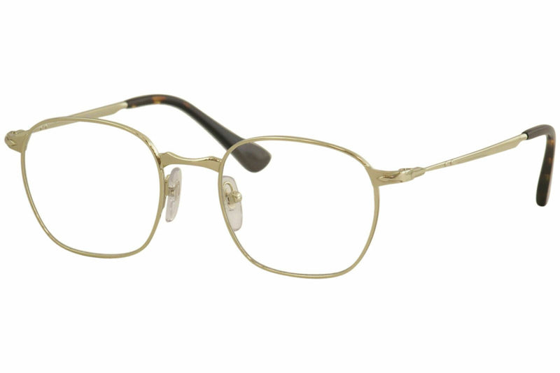 Persol Eyeglass PO2450V 1076 50mm Square Style - 649 Series Men's Eyeglass Gold Frame