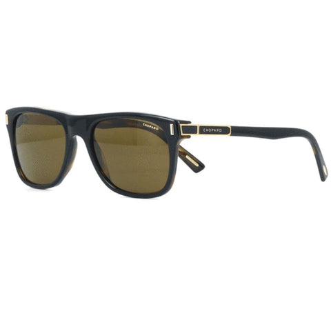 Chopard Sunglasses Square Style Brown Polarized Lens