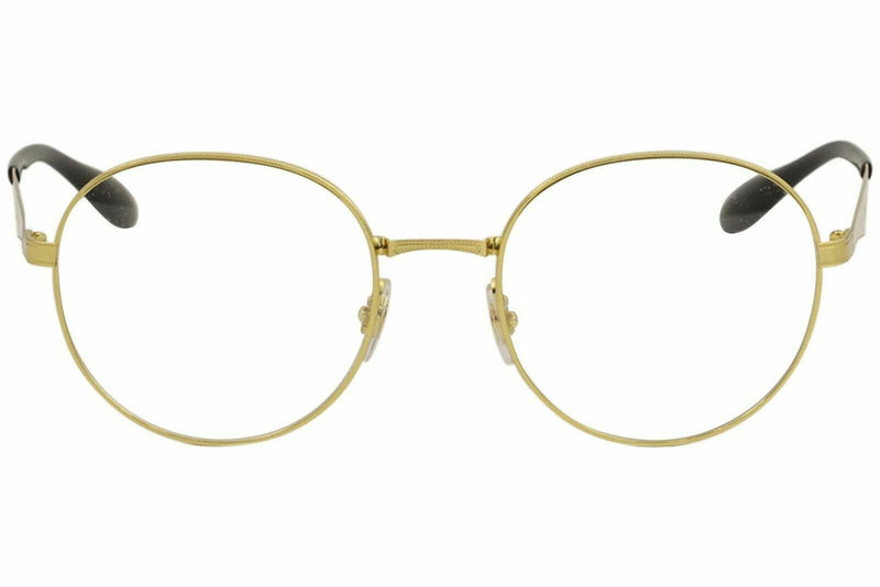 Ray Ban Eyeglasses RX6343 2860 47 RayBan 2860 Gold Full Rim Optical Frame 47mm