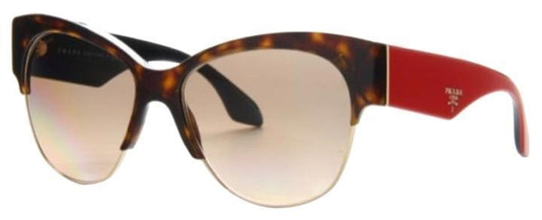 Prada Sunglasses Cat Eye Style Light Brown Grey Gradient