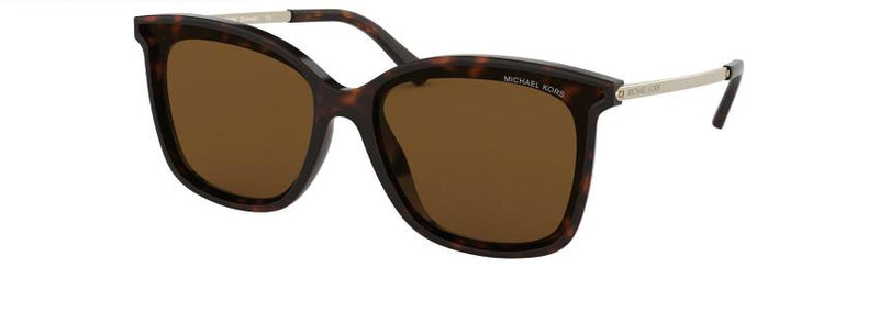 Michael Kors Sunglass - MK2079U 333383 61 Cat Eye Style Zermatt Model Havana Color Sunglass