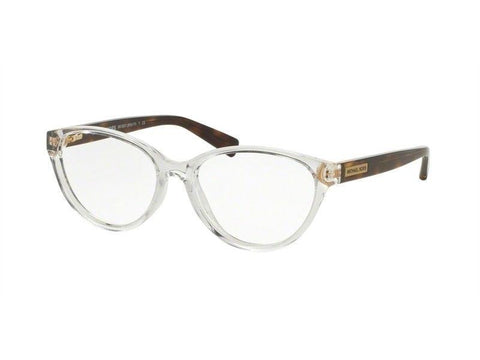 Michael Kors Women Cat Eye Eyeglasses Tortoise Frame MK8021 3050 50mm