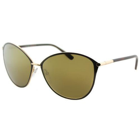 Tom Ford Women Cat Eye Sunglasses Brown Frame Gold TF 320 TF0320 28G