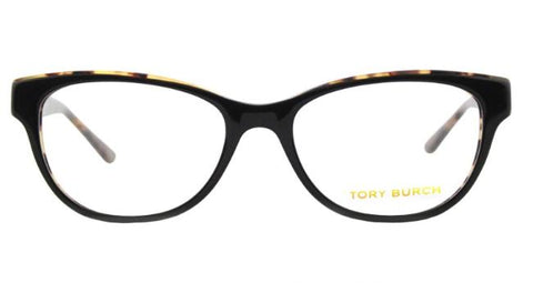 Tory Burch Eyewear TY2065 1601 Black Tortoise Women Eyeglasses 53 17 135