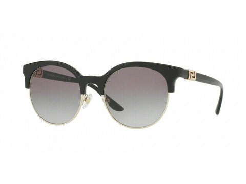 Brand New VERSACE Sunglasses VE4326B GB1/11 Black/Gradient Gray For Women