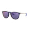 Ray Ban RB4171F Erika Color Mix 6338/D1 Blue Bronze-Copper Frame/Dark Violet 54
