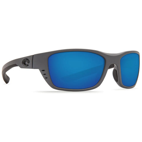 Costa Del Mar Whitetip Sunglasses WTP 98 OBMGLP 580G Grey Blue Mirror Polarized