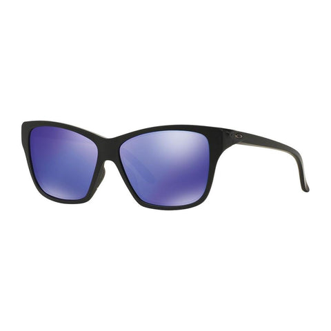 New OAKLEY Sunglasses HOLD ON OO9298-08 Matte Black Frame w/ Violet Iridium Lens