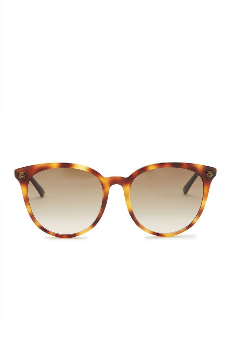Gucci Sunglass - GG0224SK-30001800005 - Round Shape Brown Gradient Lens