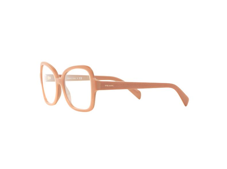 Prada Eyeglass - Butterfly style PR25SV UFF1O1 53MM Pink plastic frame with Demo lens