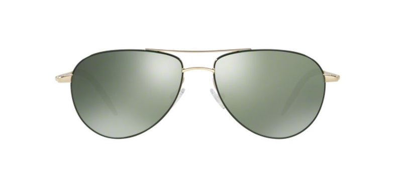 Oliver Peoples Sunglass Aviator Style Gold frame Color Polarized Lens | OV1002S 503509