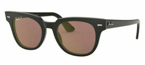 Sunglasses Ray Ban Meteor RB2168 901/W0 50 Black Violet Polarized