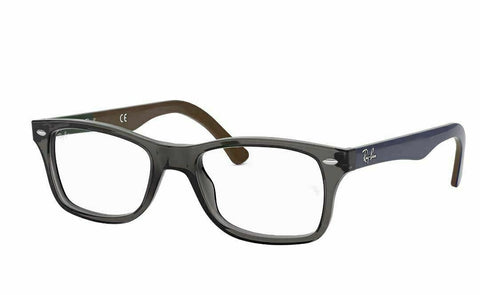 Ray Ban EYEGLASSES RB RX5228 5546 53 17 Gray / Blue RB5228 Optical Frame