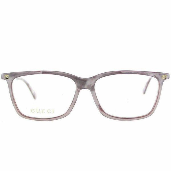 Gucci Optical Frame GG0094O 009 54 Pink Plastic Rectangle Eyeglasses 54mm