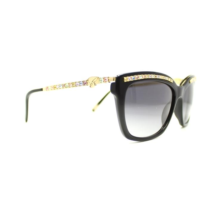Chopard Sunglass SCH211S 700M 55mm Cat Eye Style - Women Sunglass Black Frame